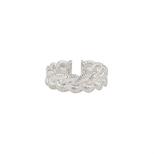 Mya Bay - Braided ring silver